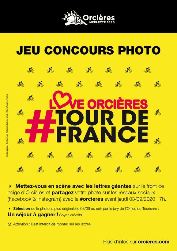 Concours photo Tour de France