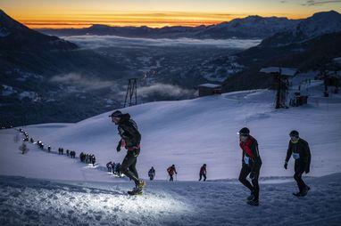 Trail étoilé - © Gilles Baron