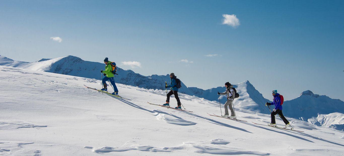 Ski de randonnée (Gilles Baron)