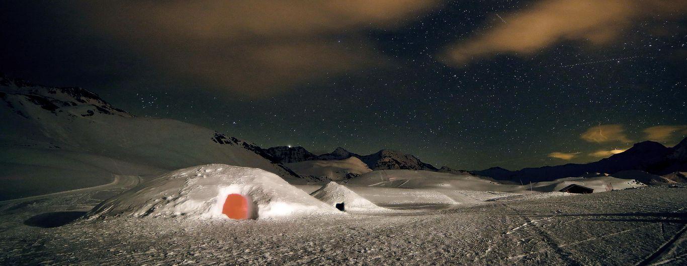 Igloos sur le plateau de Rocherousse (Florian Launette)