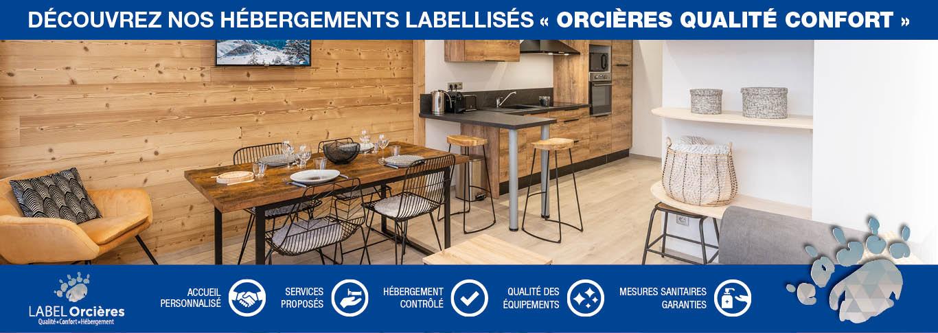 Label Orcières Qualité Confort Hébergement