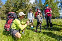 Randonnée avec les Accompagnateurs en Montagne - © Xavier Mordefroid