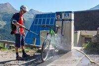 Station de lavage VTT - © Gilles Baron