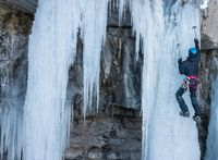 Cascade de glace Eric Fossard - © Eric Fossard