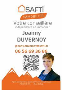 SAFTI Immobilier - Joanny Duvernoy Conseillère Indépendante en Immobilier - © Joanny Duvernoy