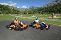 Karting à la base de loisirs d'Orcières - © Gilles Baron