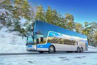 La Neige en Bus - © LER ZOU !